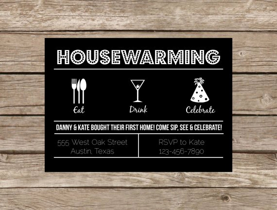 Funny Housewarming Invitation Wording Lovely It S A Housewarming Party B Lovely events