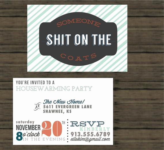 Funny Housewarming Invitation Wording New Unavailable Listing On Etsy