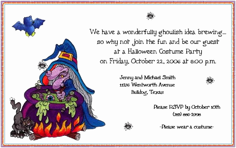 Funny Party Invitation Wording Best Of Funny Halloween Invitation Wording for Office Parti