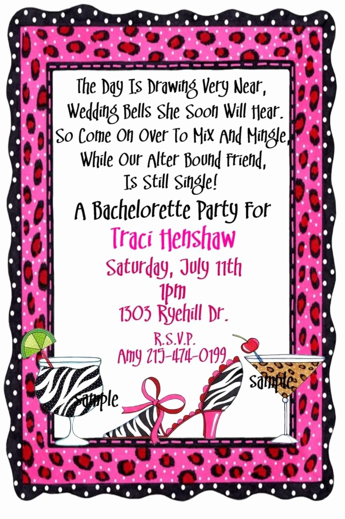 Funny Party Invitation Wording Elegant Fun Bachelor Party Invitation Wording
