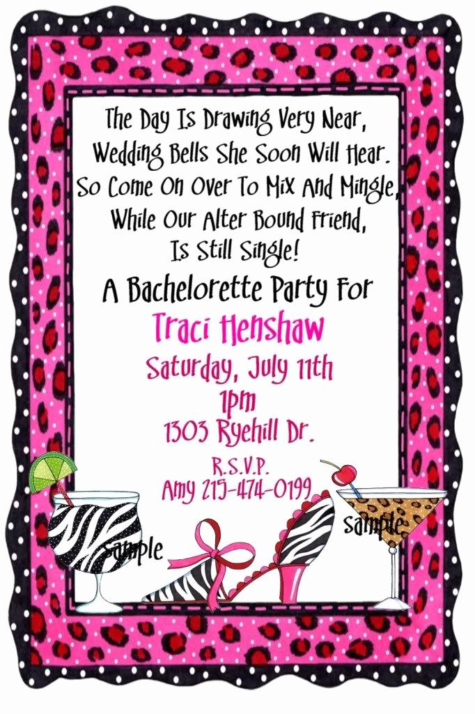 Funny Party Invitation Wording Elegant Fun Bachelor Party Invitation Wording