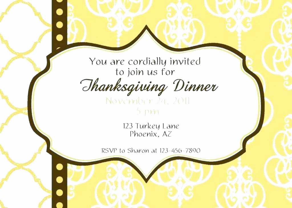 Funny Thanksgiving Invitation Wording Luxury Thanksgiving Party Invite Wording – Tinajoathome