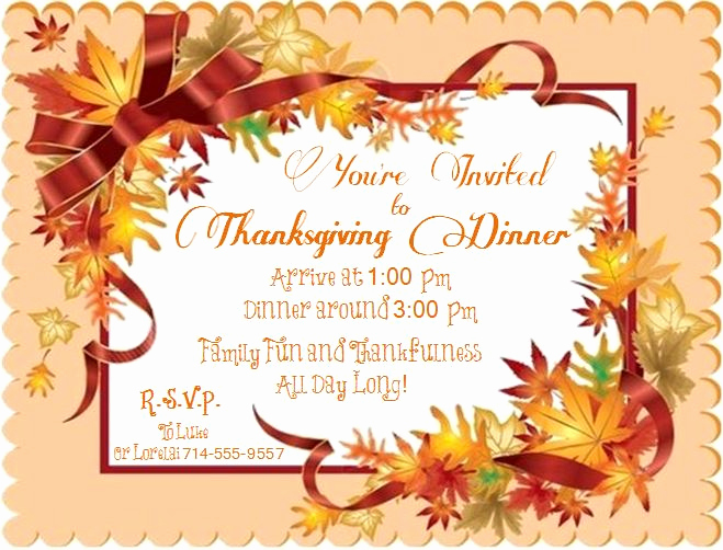 Funny Thanksgiving Invitation Wording Unique An Invitation to Thanksgiving Life with Lorelai