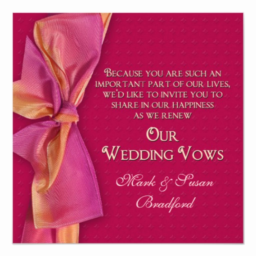 Funny Vow Renewal Invitation Wording Inspirational Romantic Renewing Wedding Vows Invitation