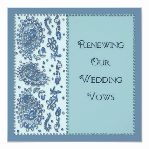 Funny Vow Renewal Invitation Wording New Wedding Vows Renewal Beaded Invitation