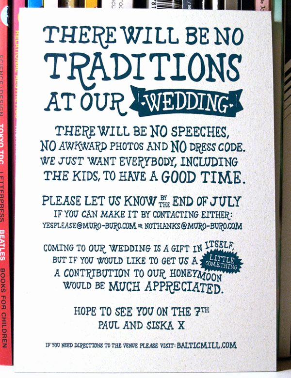 Funny Wedding Invitation Wording Best Of Casual Wedding Invitations On Pinterest