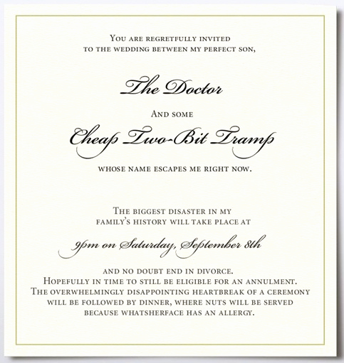 Funny Wedding Invitation Wording Inspirational Blushing Bridezilla Blog Archive if Your Mother In Law
