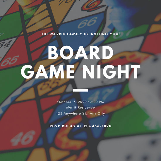 Game Night Invitation Template Fresh Customize 249 Game Night Invitation Templates Online Canva
