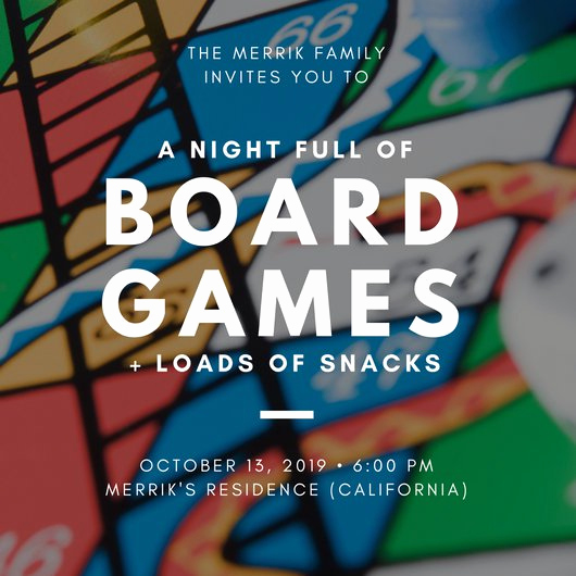Game Night Invitation Template Inspirational Customize 1 083 Invitation Templates Online Canva