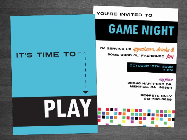 Game Night Invitation Wording Luxury 61 Best Game Night Images On Pinterest