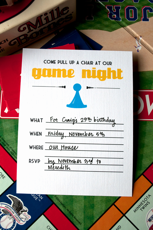 Game Night Invitation Wording Luxury Fun Game Night Invite Random