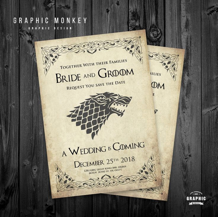 Game Of Thrones Invitation Best Of 784 Best Wedding Invite Images On Pinterest