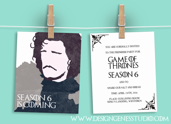 Game Of Thrones Party Invitation Best Of top 10 Game Of Thrones Party Planning Tips & Free