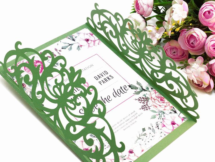 Gate Fold Invitation Template New Best 25 Cricut Invitations Ideas On Pinterest