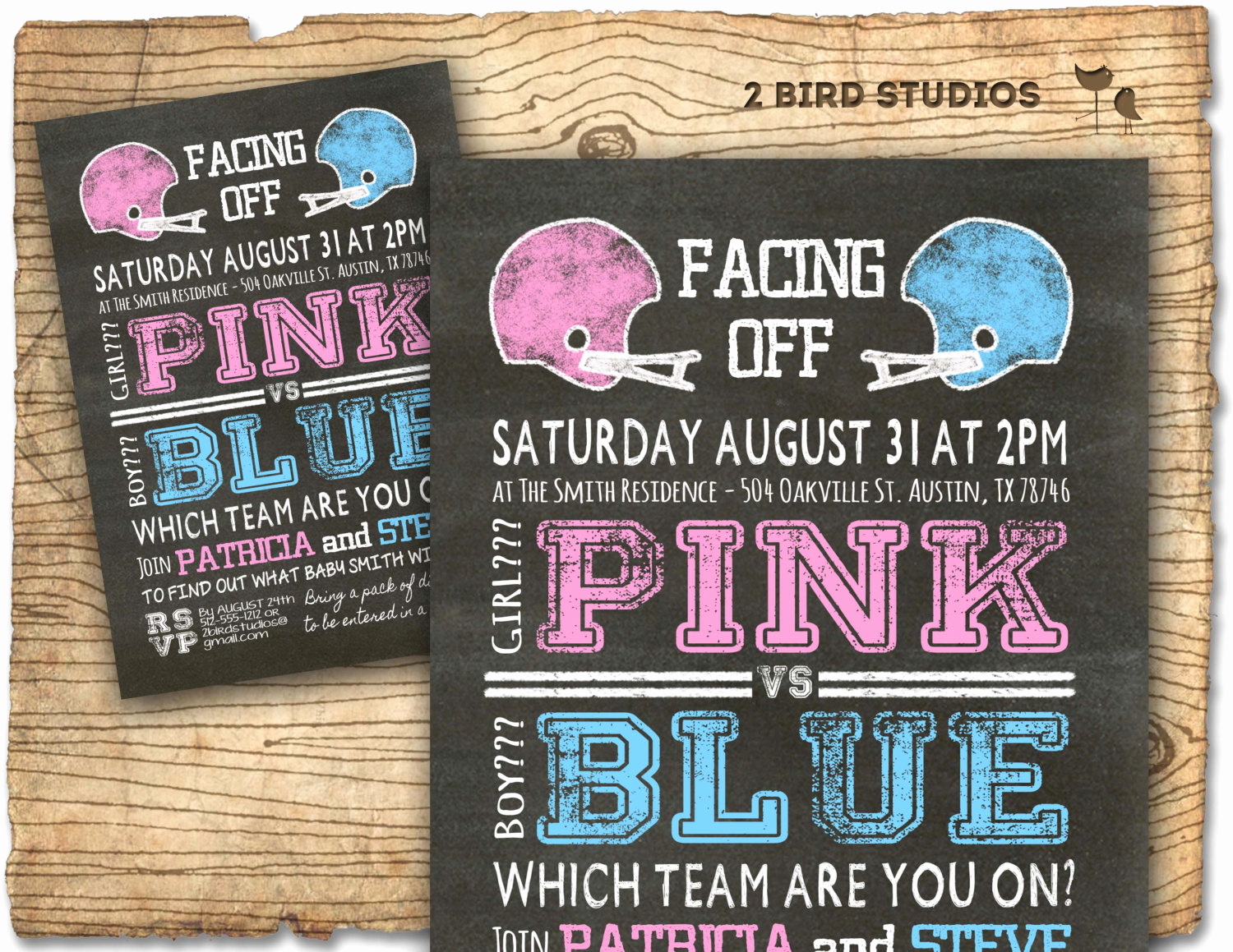 Gender Reveal Invitation Ideas Awesome Football Gender Reveal Invitation Football Baby Shower Invite