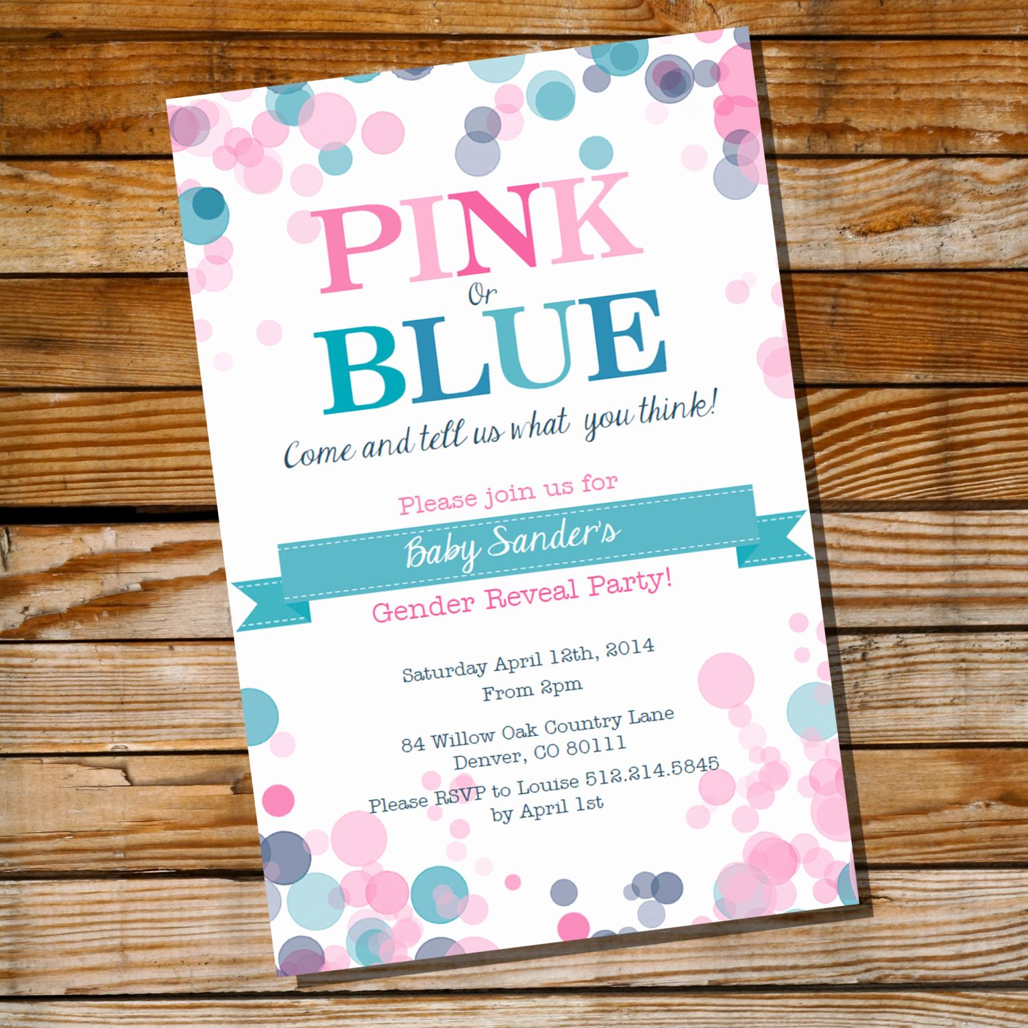 Gender Reveal Invitation Ideas Fresh Gender Reveal Party Invitation Pink or Blue Instantly
