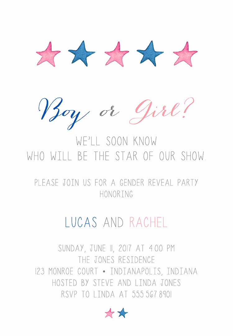 Gender Reveal Invitation Wording Beautiful 22 Baby Shower Invitation Wording Ideas