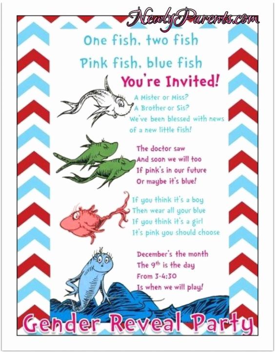 Gender Reveal Party Invitation Wording Inspirational Gender Reveal Party Invite Wording