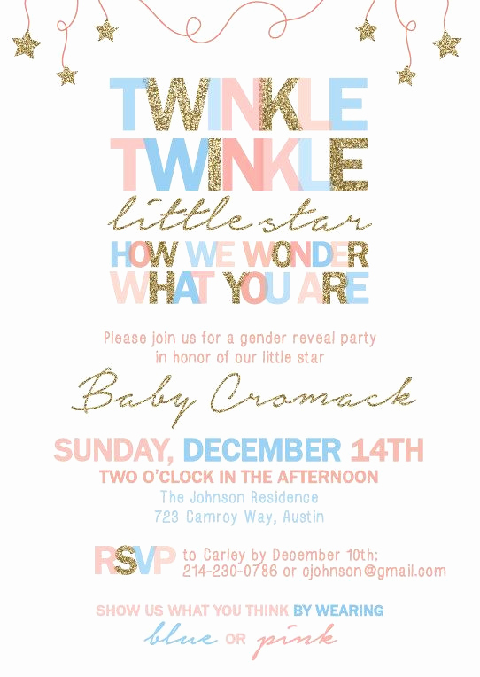 Gender Reveal Party Invitation Wording Lovely Best 25 Gender Reveal Invitations Ideas On Pinterest