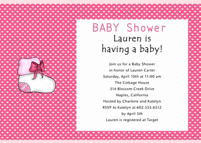 Gift Card Invitation Wording Awesome Baby Shower Gift Wording On Invitation Cobypic