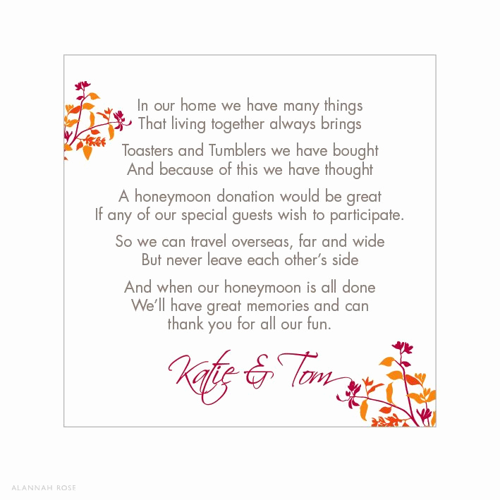 Gift Card Invitation Wording Beautiful Wedding Invitation T Wording Google Search