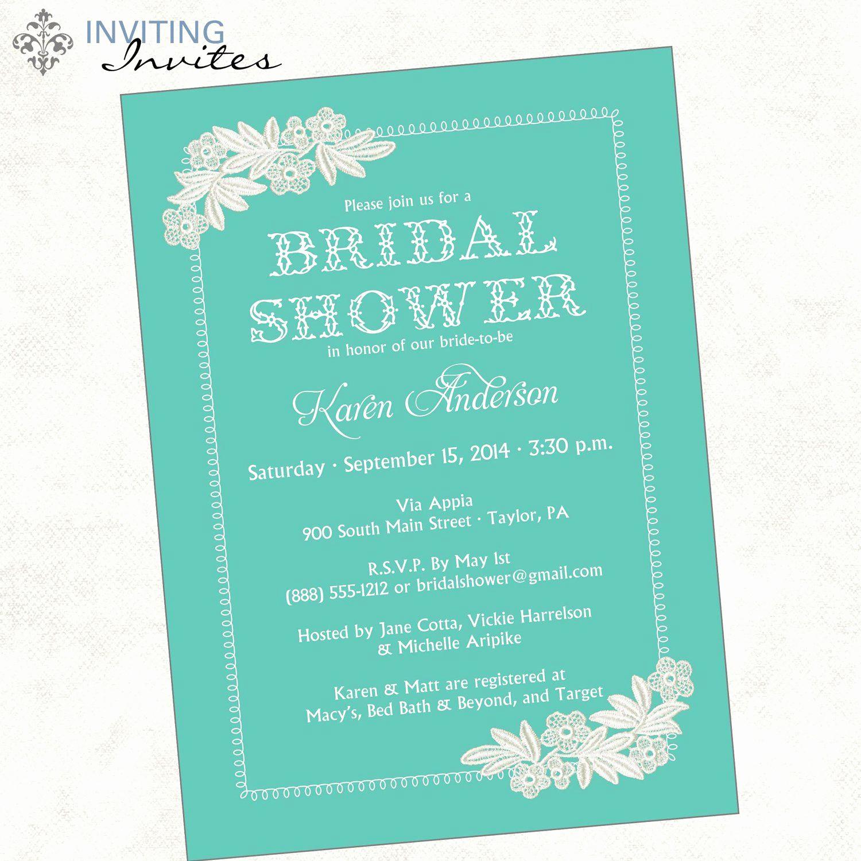 Gift Card Invitation Wording Inspirational Bridal Shower Invitation Wording Monetary Ts