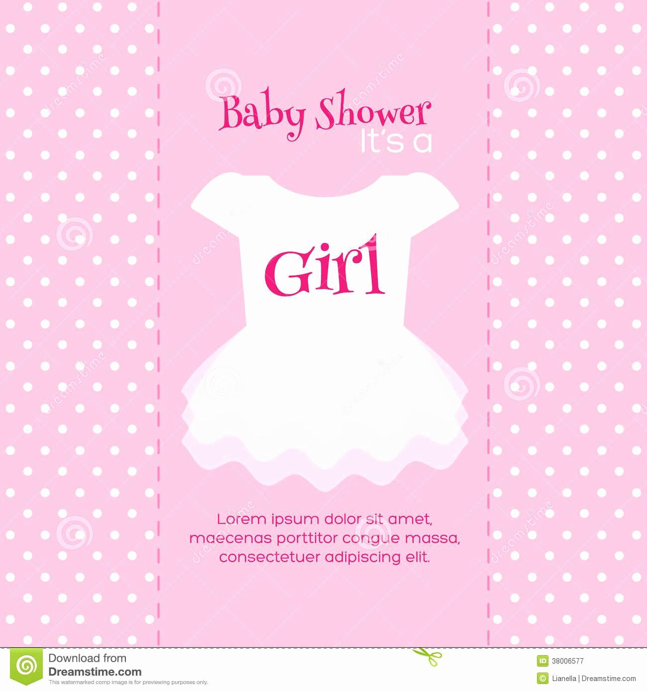 Girl Baby Shower Invitation Fresh Design Free Printable Baby Shower Invitations for Girls