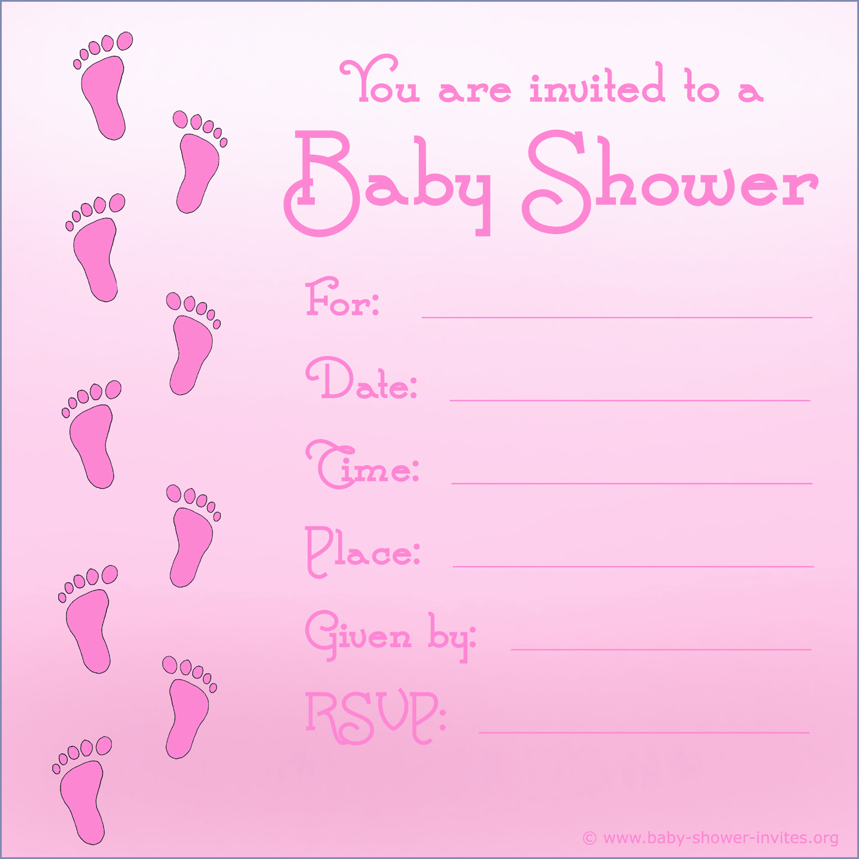 Girl Baby Shower Invitation Templates Fresh Baby Shower Invitations for Image