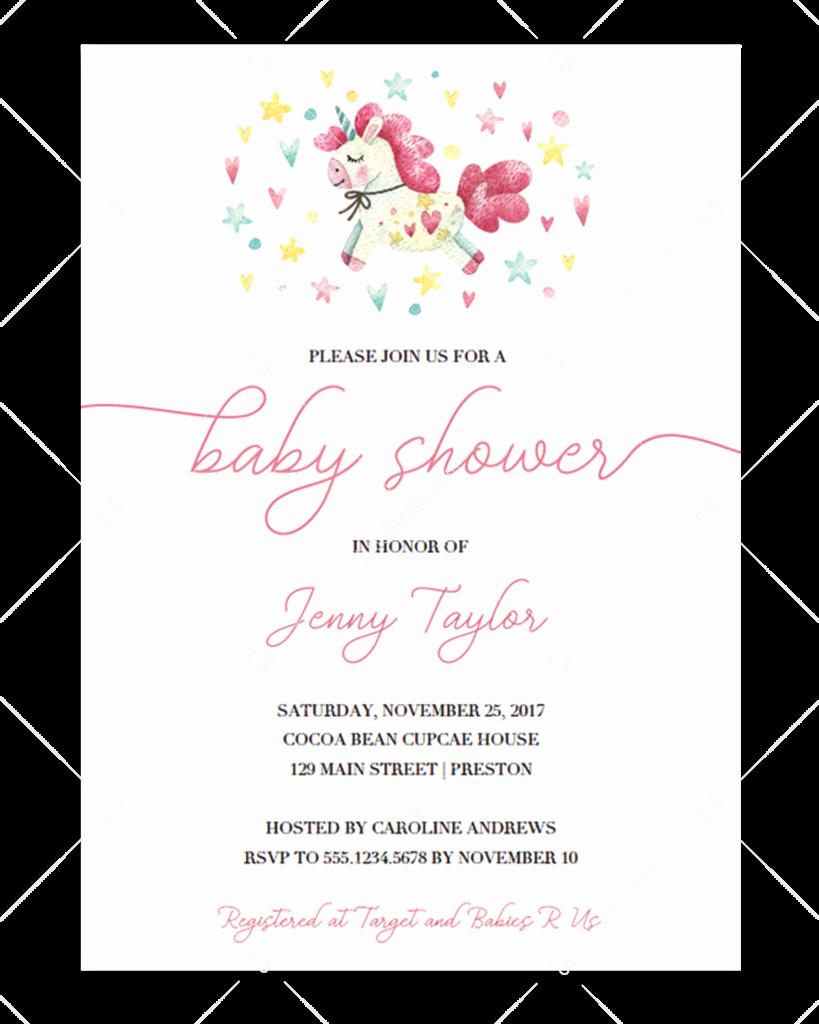 Girl Baby Shower Invitation Templates Lovely Editable Girl Baby Shower Invitation Templates