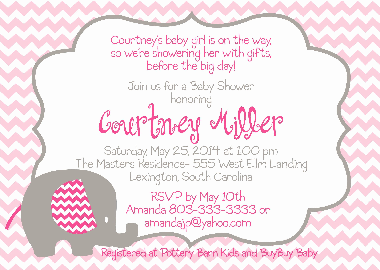 Girl Baby Shower Invitation Templates New Baby Shower Invitation Free Baby Shower Invitation