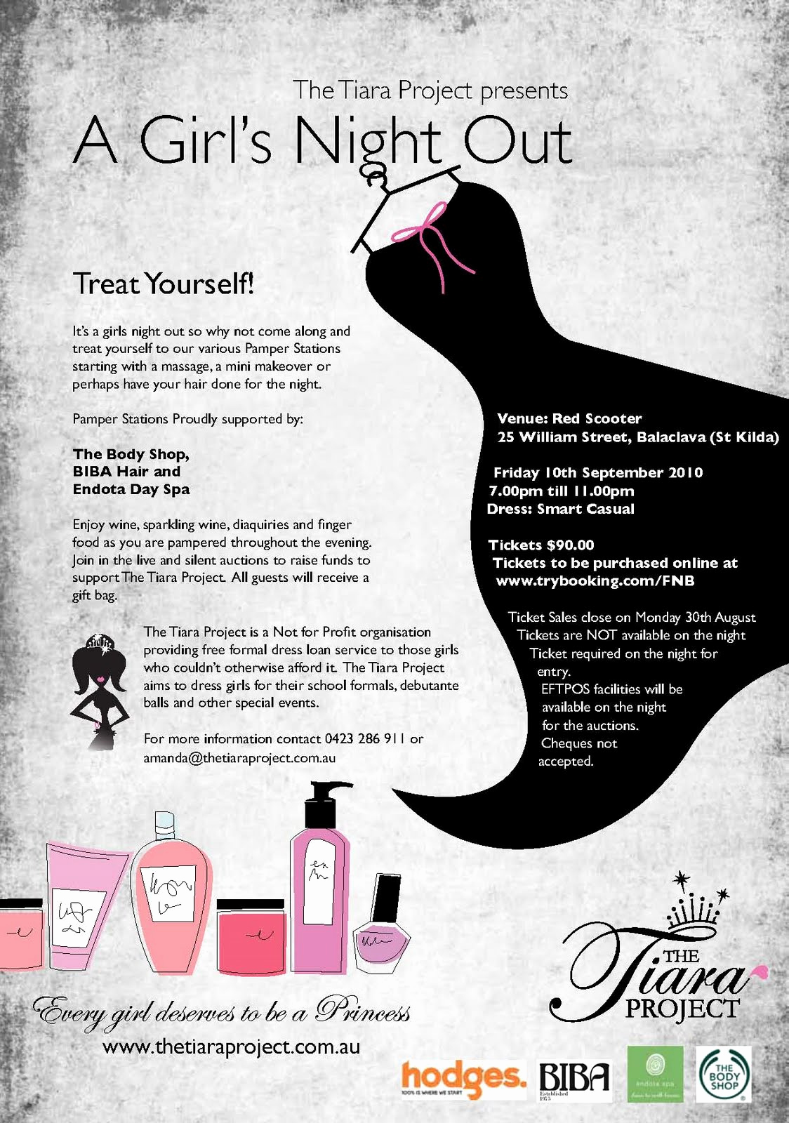 tiara project present girls night out