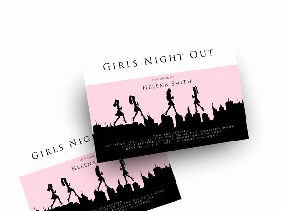 Girls Night Out Invitation Fresh Girls Night Out Invitation Download Digital Printable