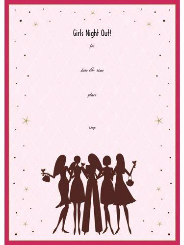 Girls Night Out Invitation Inspirational Girls Night Out Invitation Party Ideas