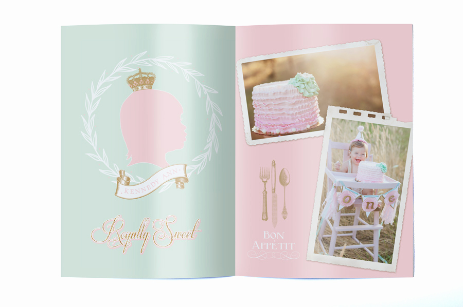 Glamorous Party Invitation Wow Best Of Royal First Birthday Party Booklet Invitation Modern Moments