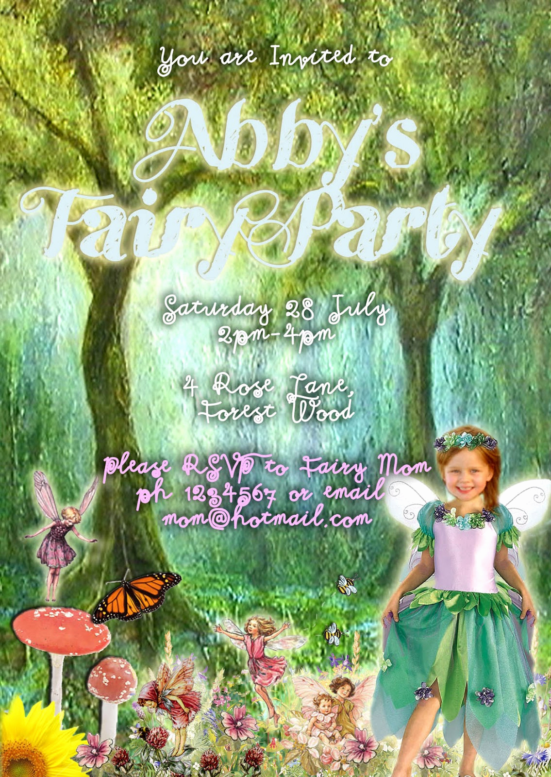 Glamorous Party Invitation Wow Fresh Great Fun Etc Fairy Party with Printables