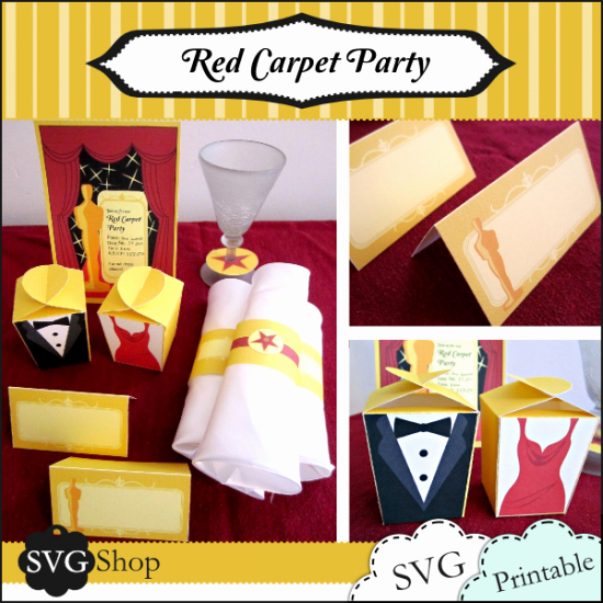 Glamorous Party Invitation Wow New 12 Oscar Party Printables Tip Junkie
