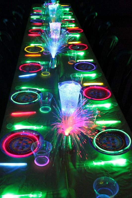 Glow Party Invitation Ideas Best Of Glow In the Dark Kids Birthday Party Ideas