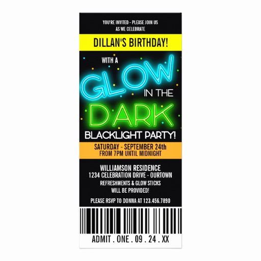 Glow Party Invitation Template Best Of Glow Sticks Invites 51 Glow Sticks Invitation Templates