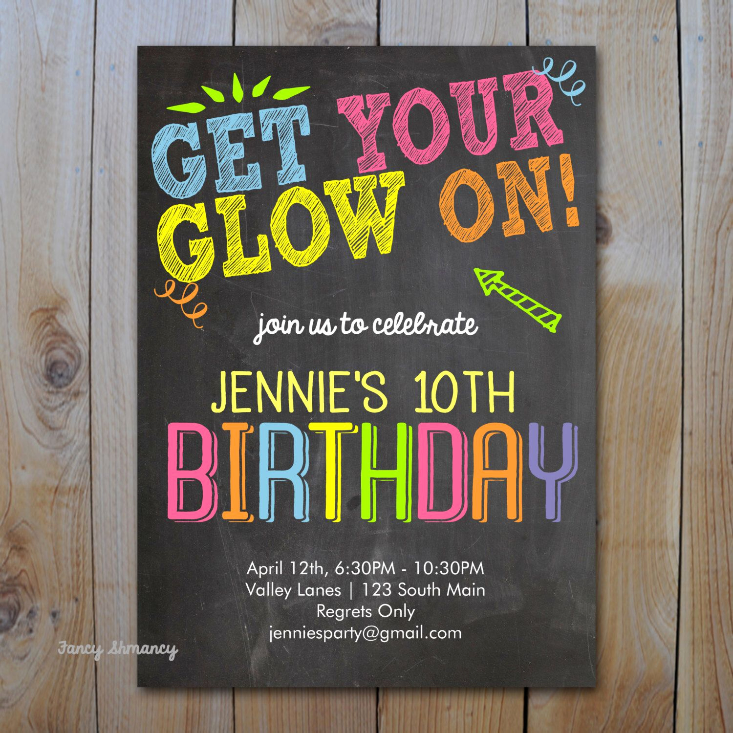 Glow Party Invitation Template Free Awesome Pin by Stiletto Lawyer On Glow Party