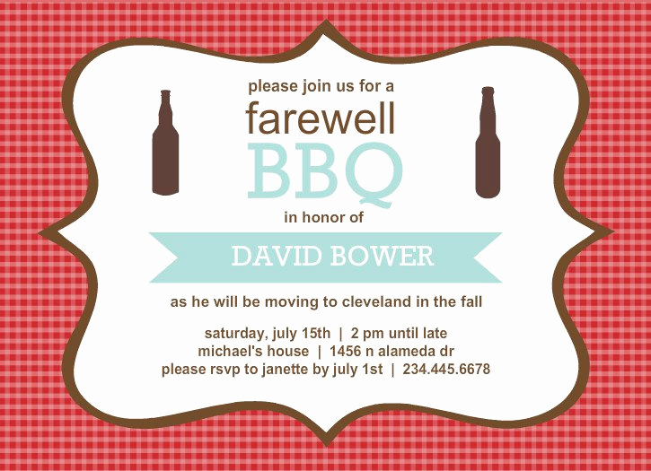 Going Away Invitation Template Best Of Going Away Invitation Templates