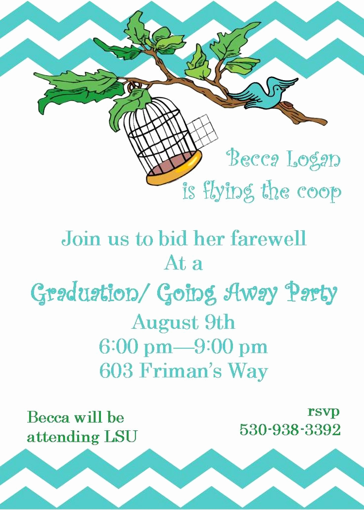 Going Away Party Invitation Best Of Pin by On Going Away Invitations