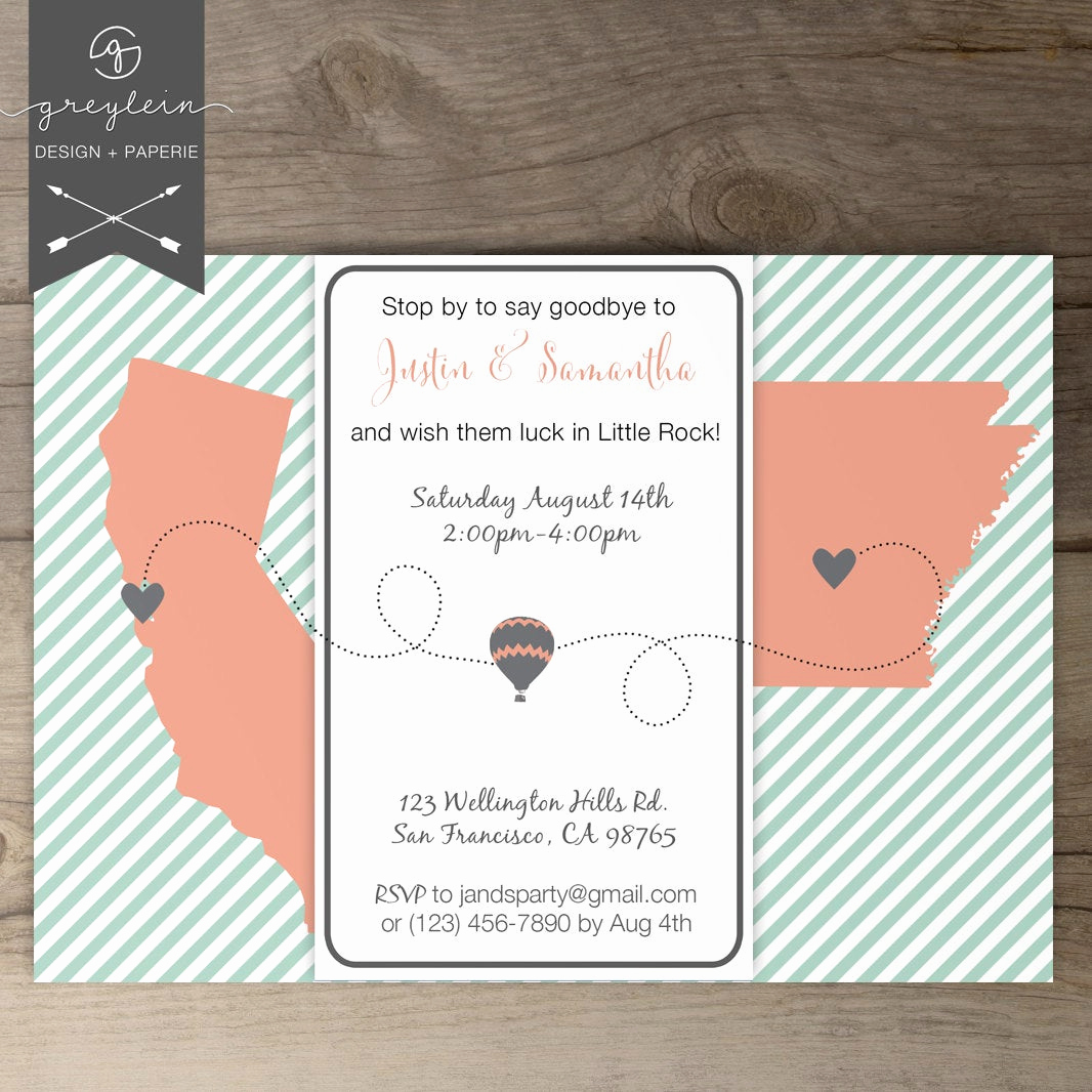 Going Away Party Invitation New Moving Going Away Party Invitations Invites