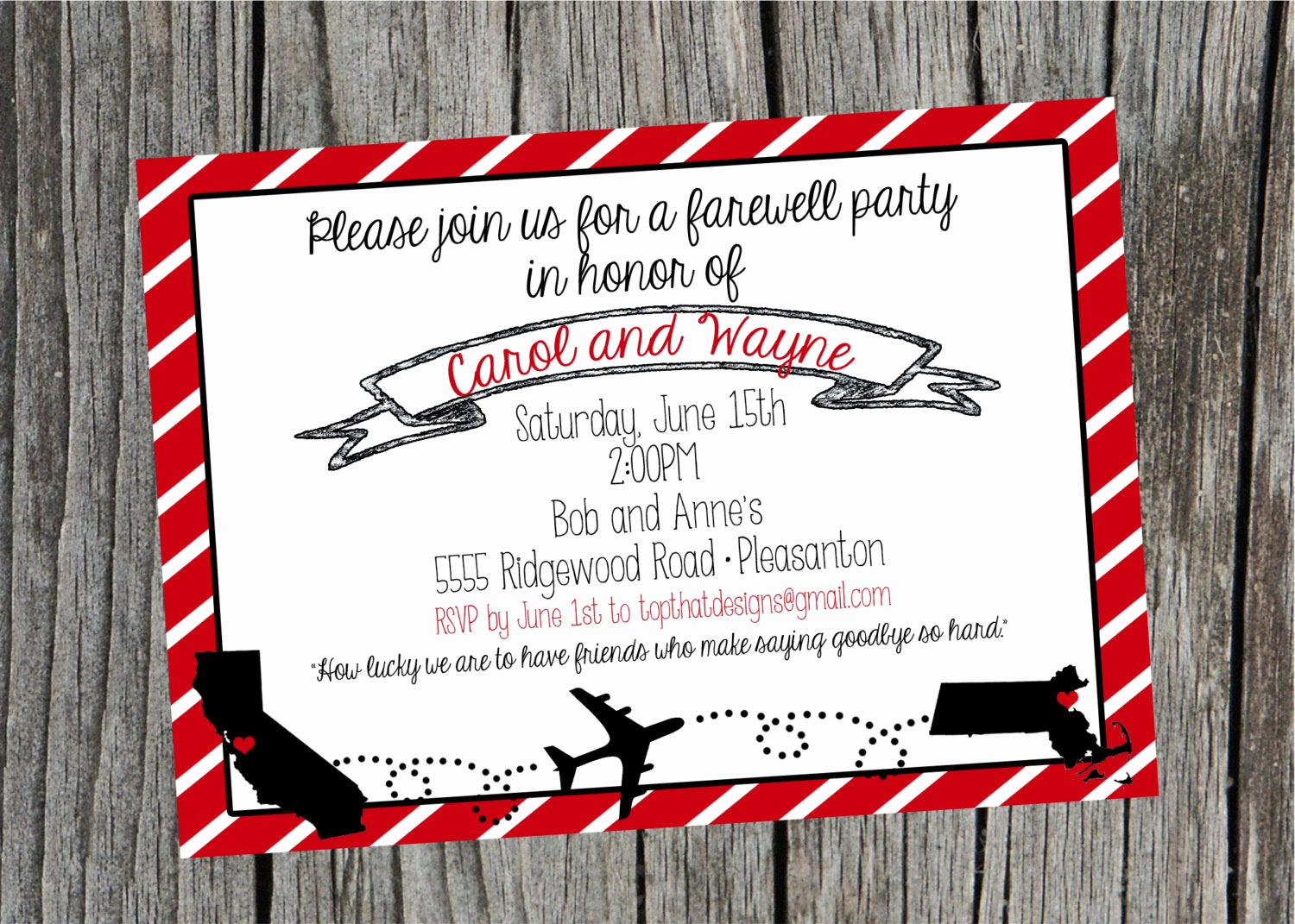 Going Away Party Invitation Template Elegant Going Away Moving Party Invitation Digital File