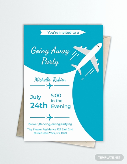 Going Away Party Invitation Template Fresh Free Dj Summer Party Invitation Template Download 344