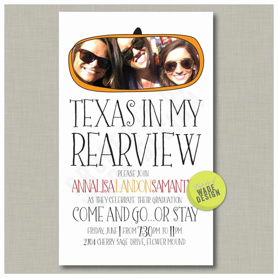 Going Away Party Invitation Wording Awesome Graduation Going Away Party Announcement by