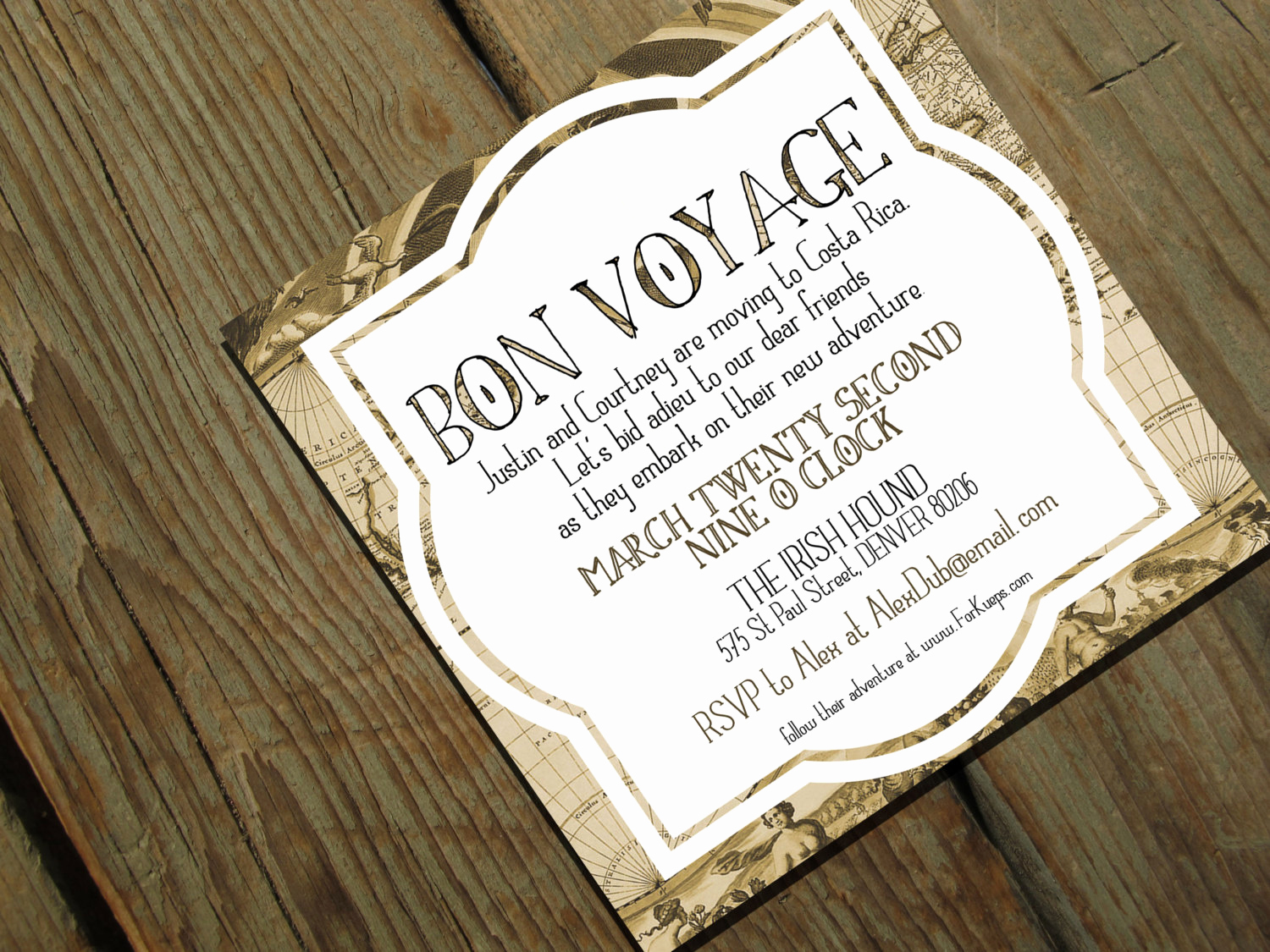 Going Away Party Invitation Wording Elegant Bon Voyage Going Away Party Invitation Moving by