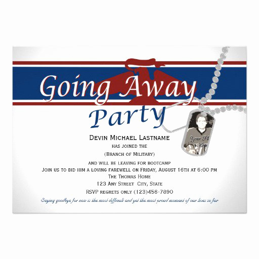 Going Away Party Invitation Wording Fresh Military Going Away Party Invitation Wording