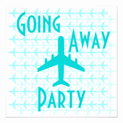 Going Away Party Invitation Wording New Invitation to Airplane Party