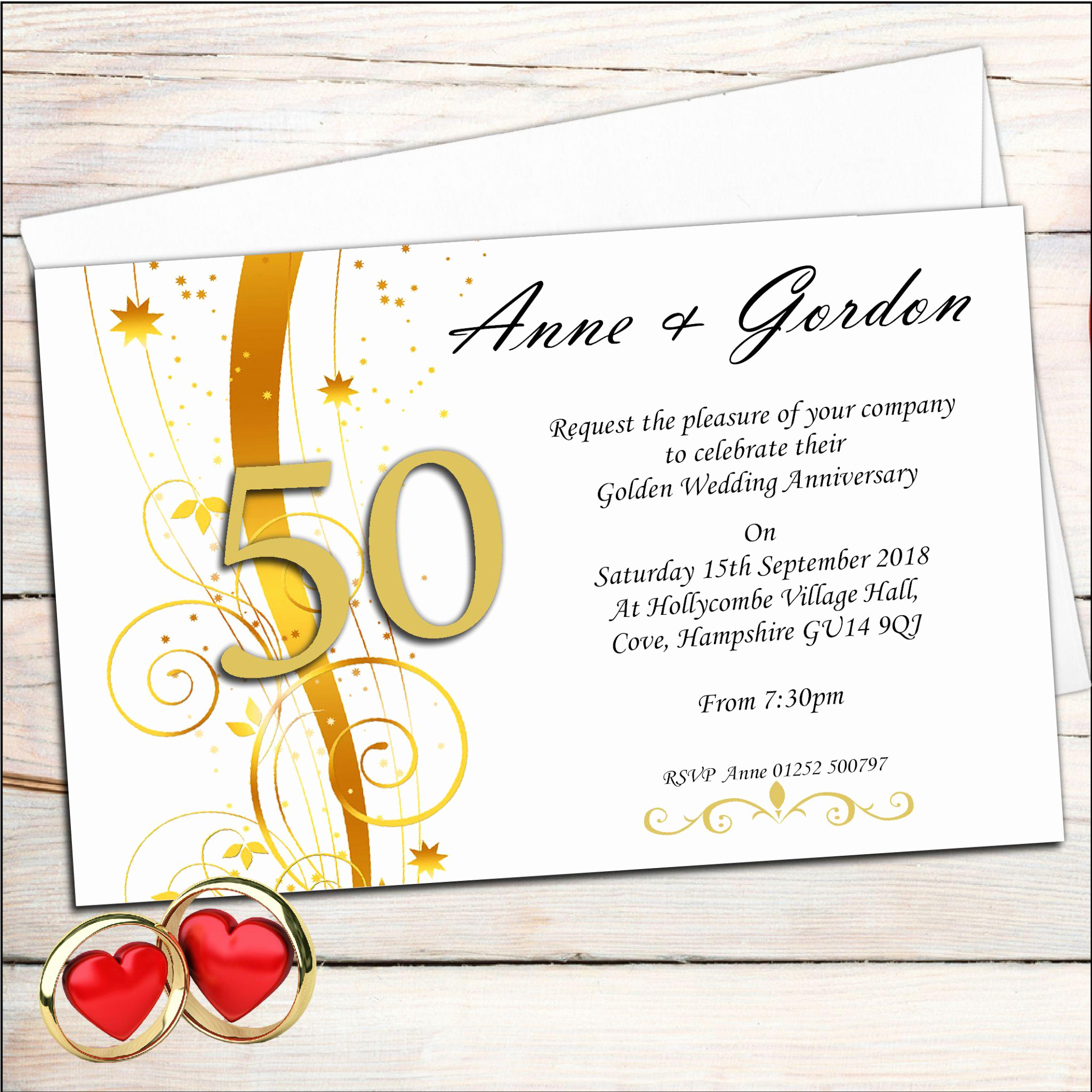 Golden Anniversary Invitation Wording Best Of Golden Wedding Anniversary Invitations 50th Wedding