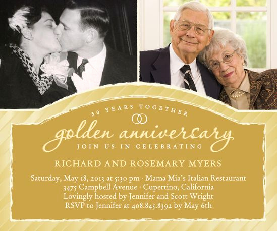 Golden Anniversary Invitation Wording Inspirational 25 Best Ideas About 50th Anniversary Invitations On